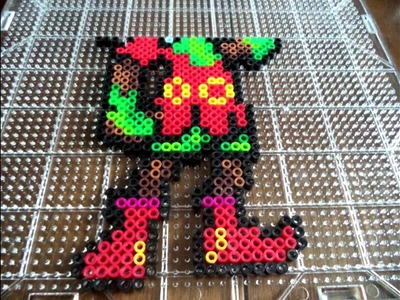 How To Make Majora From The Legend of Zelda Majora's Mask Out of Perler Beads
