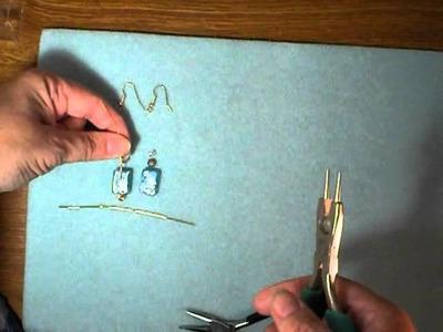 How to Make Spiral Headpin Beaded Earrings