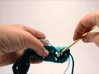 Larksfoot Crochet Stitch Tutorial