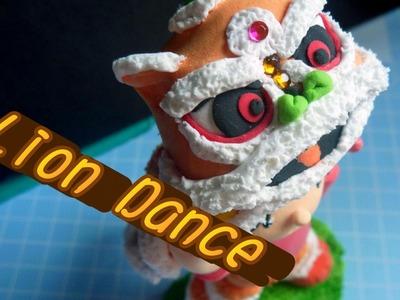 Lion dance clay diy tutorial