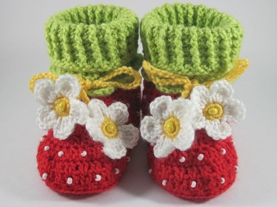 Make Cute Crocheted Baby Booties - DIY Crafts - Guidecentral
