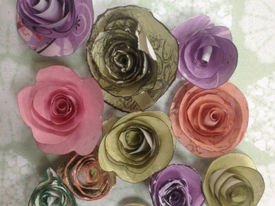 Make Pretty Rolled Paper Roses - Crafts - Guidecentral
