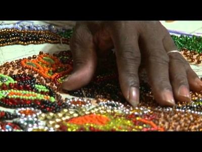 """""""One Bead At A Time"""" Mardi Gras Indians Sew"""