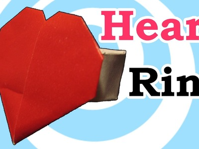 Origami Heart Ring Instructions