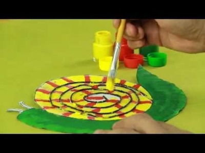 Paper Plate Snail: Art and Craft Videos