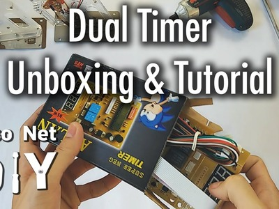 Pisonet DIY: Dual Timer Unboxing and Tutorial