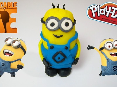 Play Doh Minion Despicable Me | Fun & Easy DIY How To Play Dough!