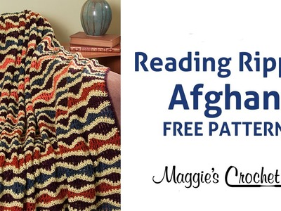 Reading Ripple Afghan Free Crochet Pattern - Right Handed