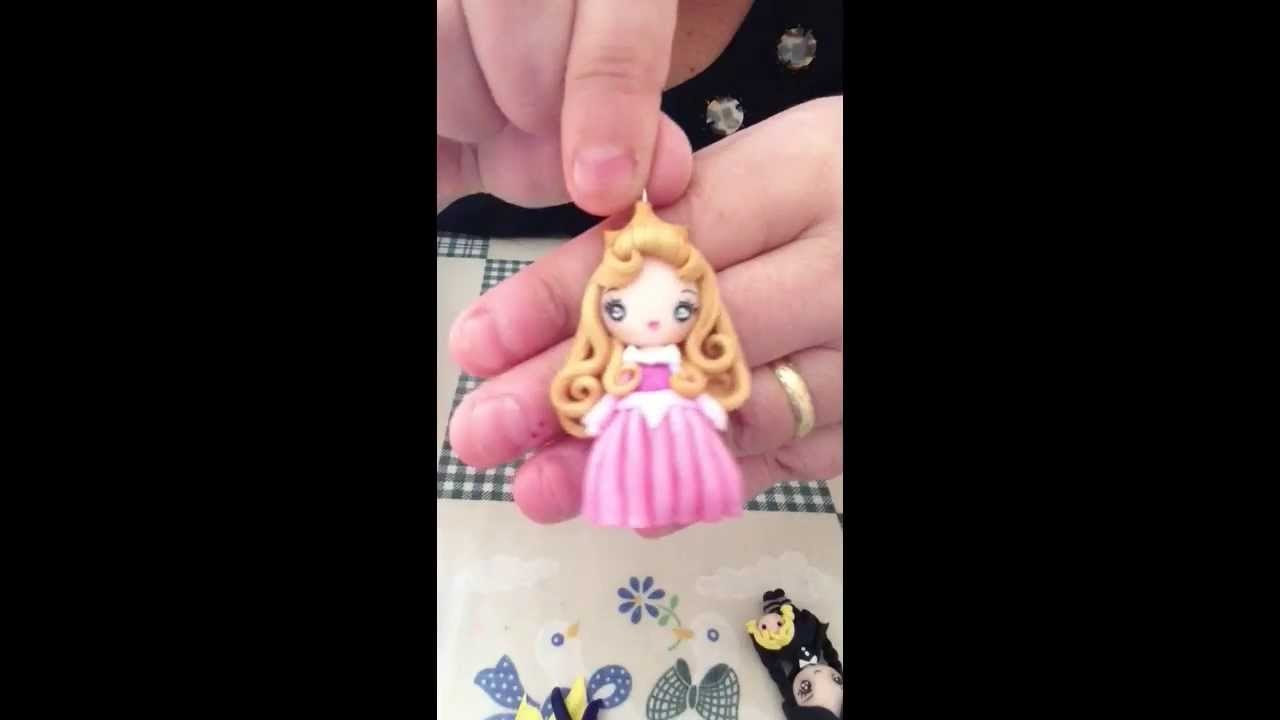 Review doll in fimo + hama Beads