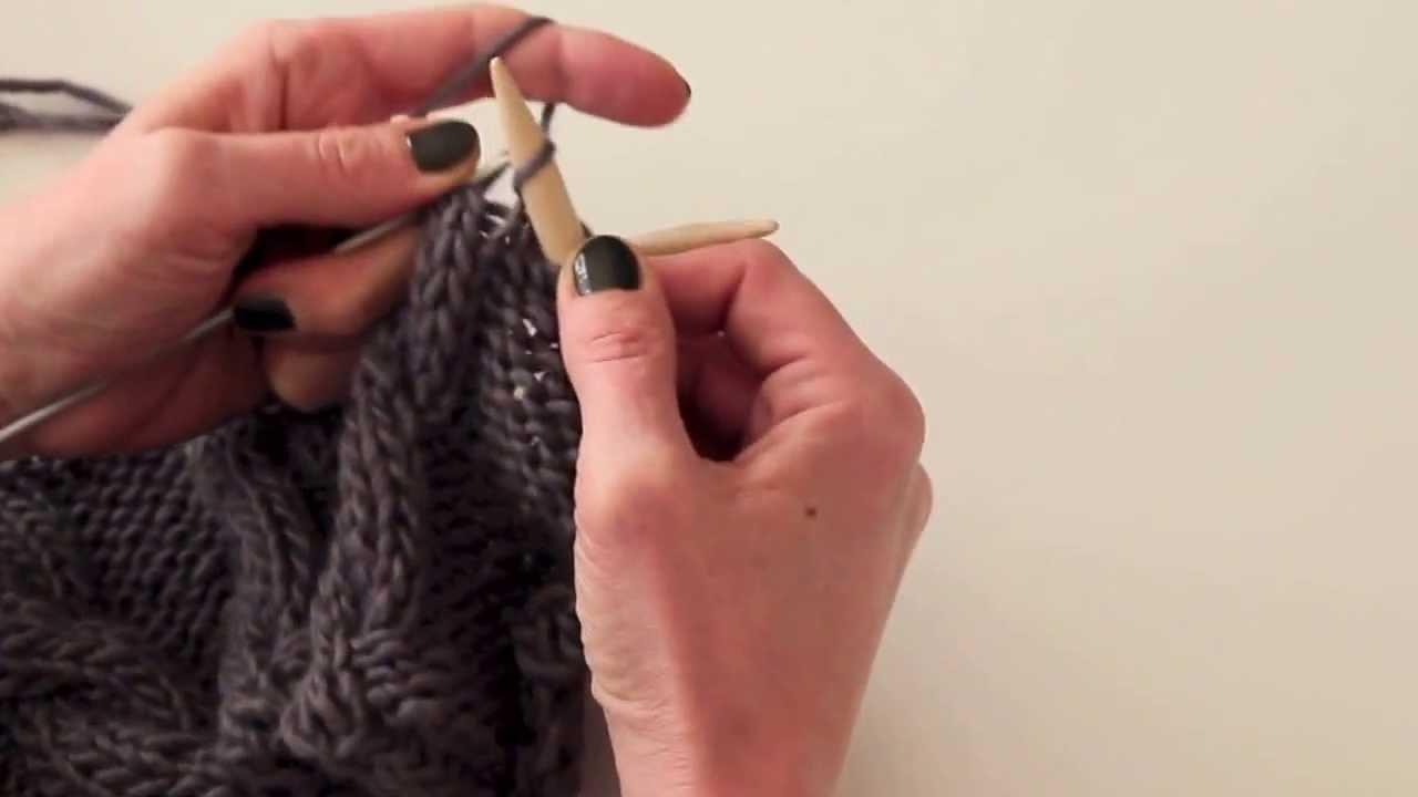 Stricken lernen: Zöpfe stricken | Knitting for beginners: Cable Knit