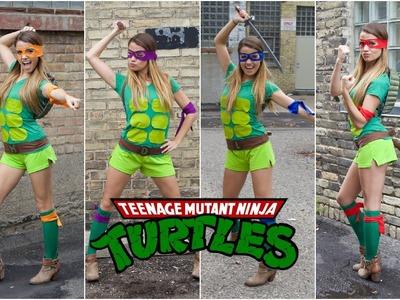 Teenage Mutant Ninja Turtle DIY Halloween Costume!