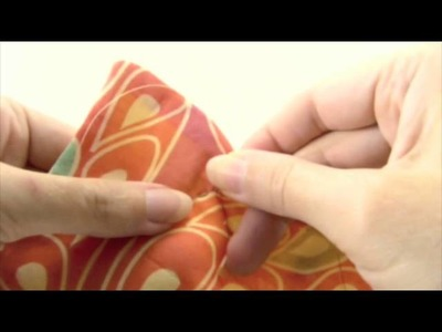 Tutorial: Hand Quilting A Scarf