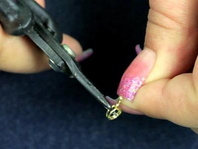 Using Beadalon Split Ring Pliers