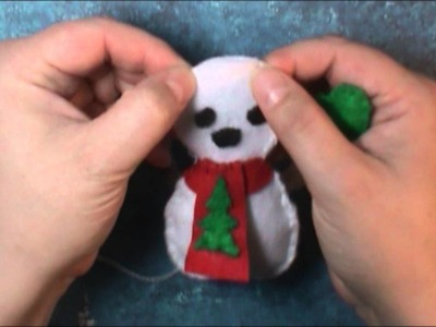 12 Days of Christmas Craft ideas: Snowman