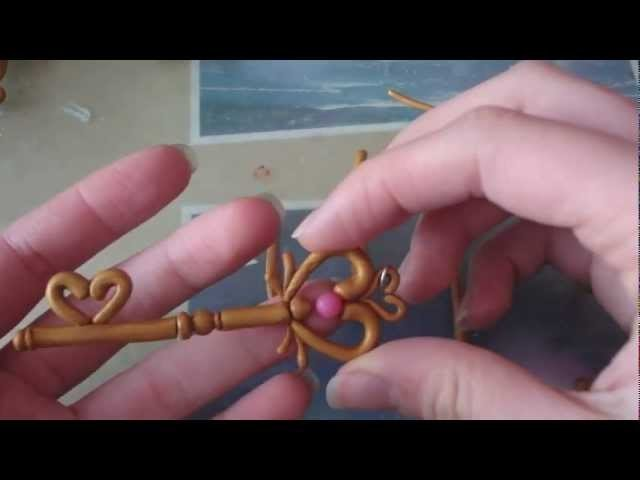 14 Days of Valentine's Day Crafts - Day 10: Key to the Heart Tutorial