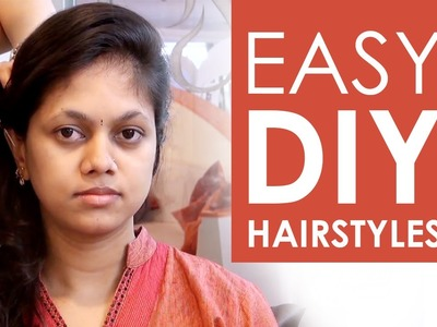 2 Quick, Easy DIY Hairstyles for girls!