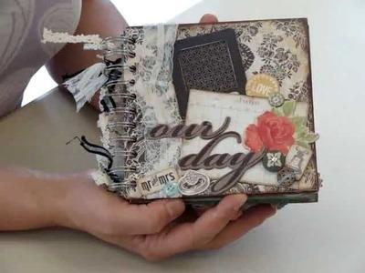 6x6 Chipboard Scrapbook Project Idea