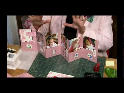 Accordion Scrapbook with Pockets by Sandi Genovese