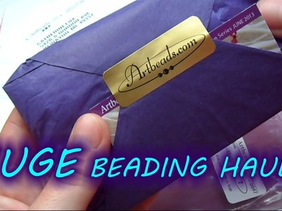 Beading HAUL! June 2013 | eclecticdesigns