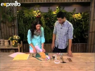 Craft: Cutting and Folding a paper box (5.3.2013)