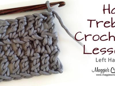 Crochet Basics: Half Treble Crochet Lesson - Left Handed