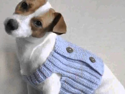 Crochet Pattern Dog Sweater -  Pictures Decoration