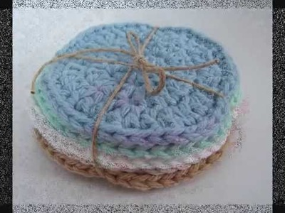 Crocheted coasters and scrubbies from my etsy shop artistik1979