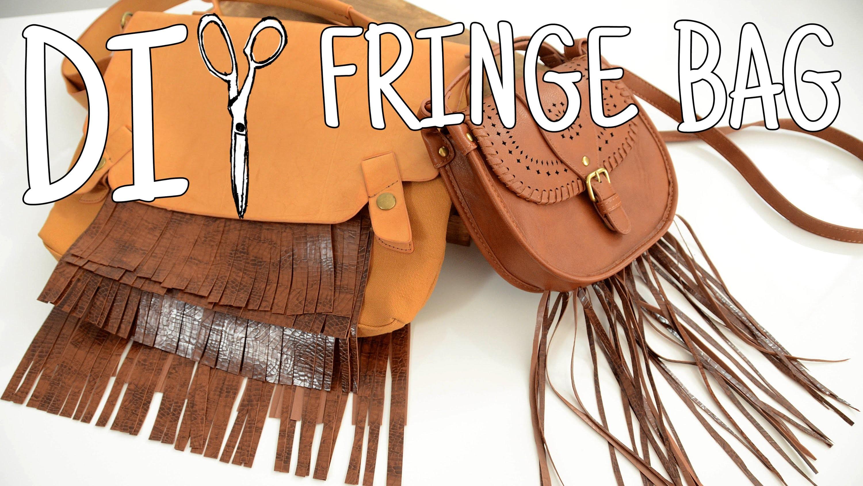 DIWhyNot: DIY Fringe Bag