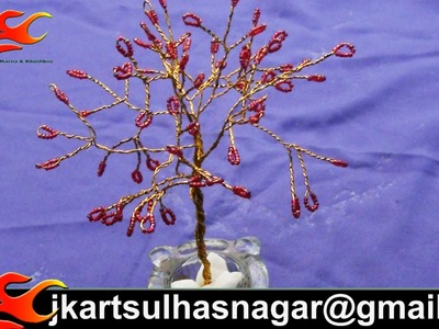 DIY Beads Wire Tree -  JK Arts 036