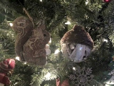 DIY Christmas Ornament - Recycled items