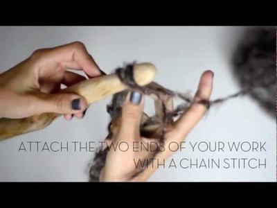 DIY - Circular crochet scarf - DIY FASHION TUTORIAL