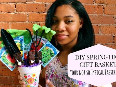 DIY Easter Gift Basket Idea: Not Your Typical Easter Basket