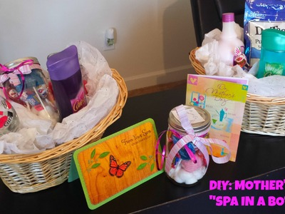 "DIY Mother's Day Gift Ideas LAST MINUTE | ""Spa in a Bottle"""