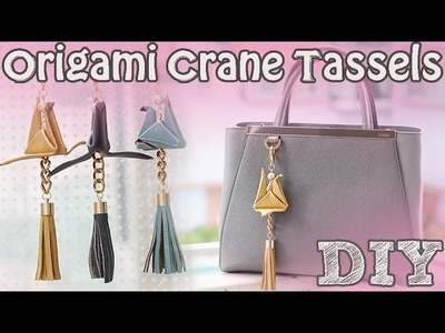 ➳ DIY: Origami Bag Charm (Holiday Gifts)