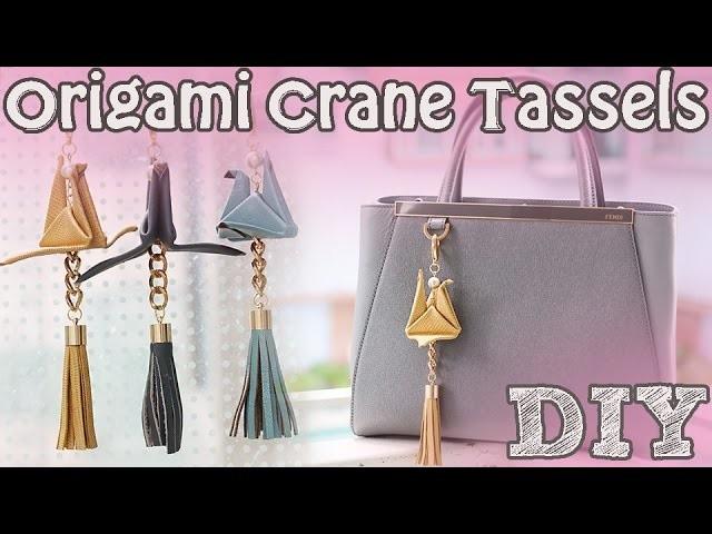 ➳ DIY: Origami Bag Charm (Holiday Gifts)