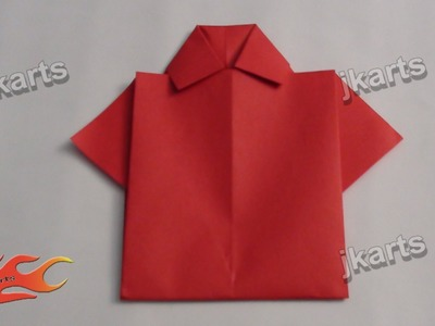 DIY Origami Shirt for Father's Day - JK Arts 238