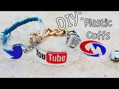 ♡DIY: School Pride Plastic Cuffs {Back To School}