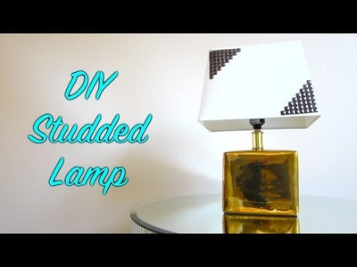 DIY Studded Lamp