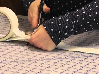 DIY Washi Tape with Fabric Scraps | Craftforest.com