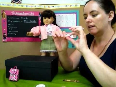 Doll Play Day 92 - Karen Shows You How to Make School Lunch for Your Dolls