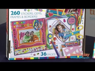 Dylan's Candy Bar My Sweet Scrapbook from Alex Toys
