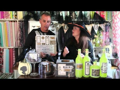 EPISODE 4 ALL HALLOW'S EVE DECOR CRAFTS