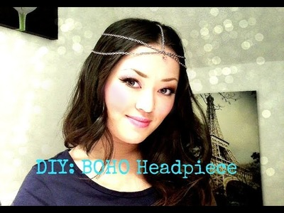FASHION DIY: Boho Chain Headpiece | Simple Tutorial