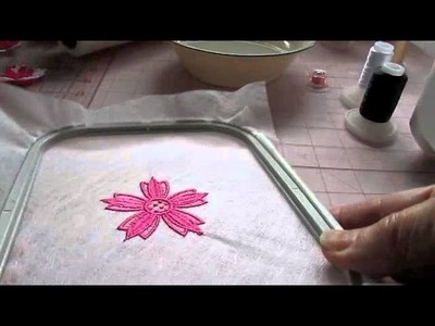 Free Standing Lace (FSL) Tutorial for Small Embroidery Projects