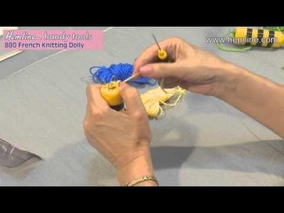French Knitting Dolly