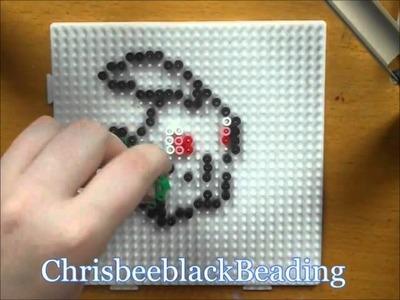 Hama Beads: Chikorita