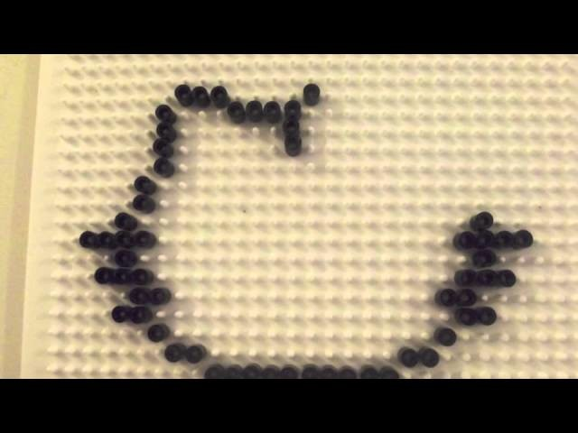 Hello Kitty Perler Beads Tutorial