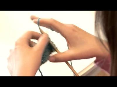 How To Create Garter Stitch