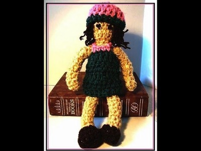 HOW TO CROCHET A DOLL.