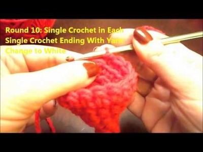 How to Crochet: Barbie Doll Santa Hat